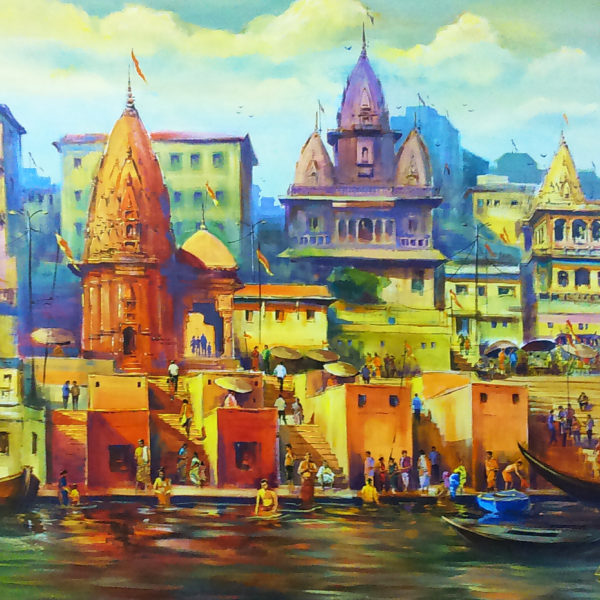 The Mystical Banaras Ghats
