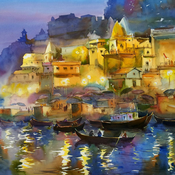 Glowing Banaras