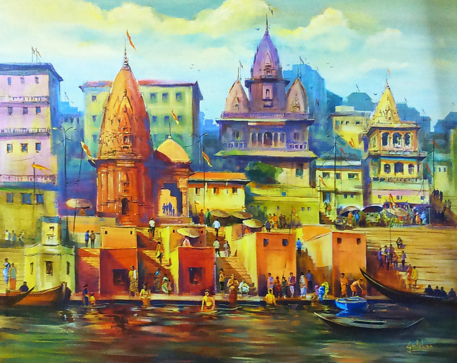 The Mystical Banaras Ghats