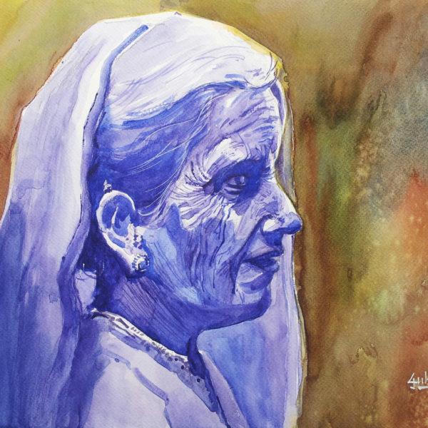 Violet ... the colour of peace ... harmony ... wisdom